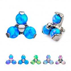 titanium-synthetic-opal-threaded-ends