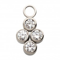 titanium-with-bezel-set-clear-cz-4-clust