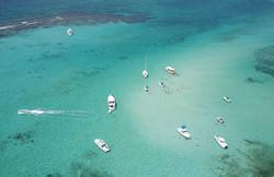 Stingray City Aerial Image - Cayman Islands