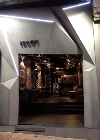 ISCOV Pop Up Store design (HK)