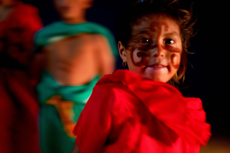 Wayuu familial paint
