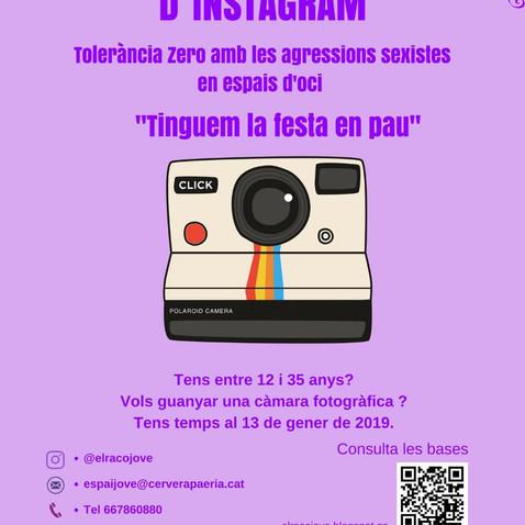 1r Concurs Instagram