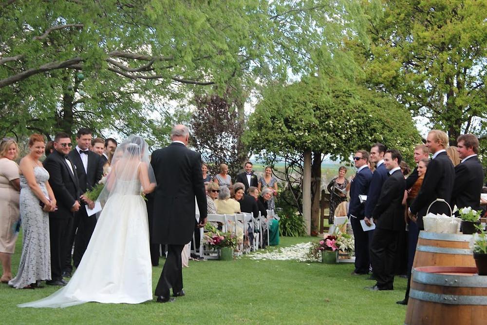 Carmen and Will's wedding in Gunnedah NSW