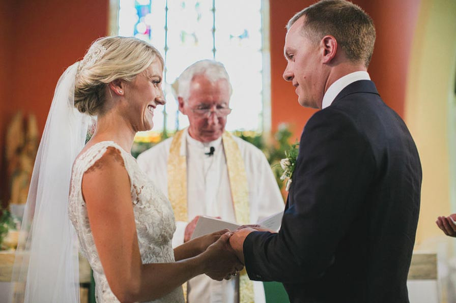 Prue and James wedding in TUMUT NSW