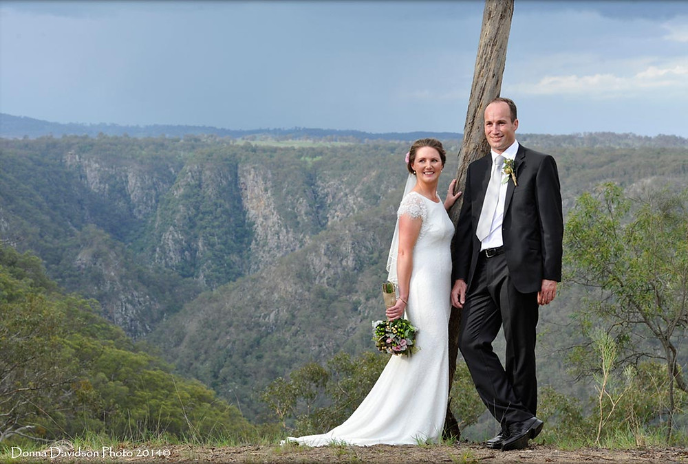 Pip and Dave Wedding in Armidale NSW