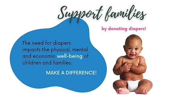 The need for diapers impacts the physical, mental and economic well-being of children and