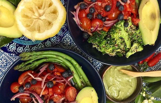 Summer Salad Quinoa Bowl