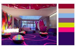 Color separation of interior design