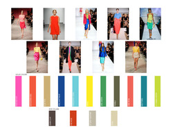 Spring runway color chart