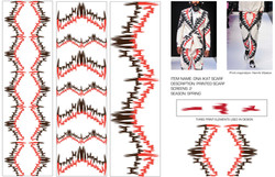 DNA ikat print