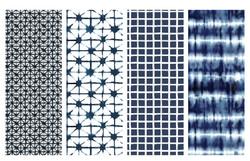 Indigo denim patterns