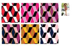 70's inspired geometric