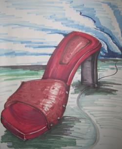Red Shoe Surrealism