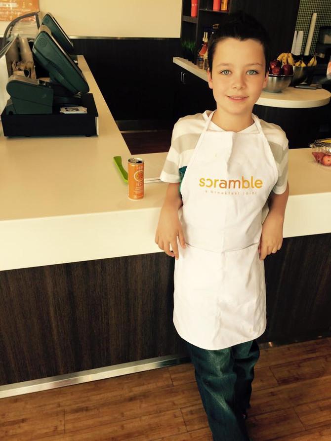 KIDS COOKING CLASS RETURNS TO SCOTTSDALE SCRAMBLE