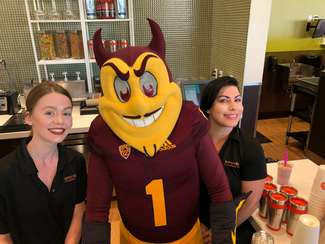 Tempe Scramble Opens with Special Guest