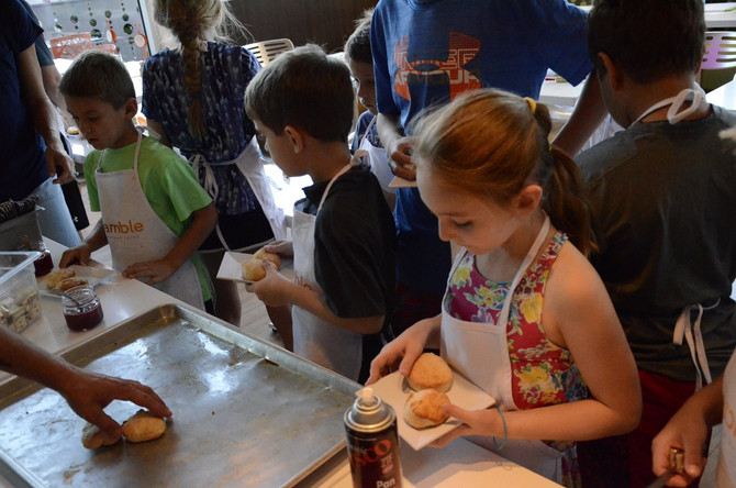 Final Kid's Cooking Class of the Year