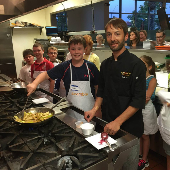 Kids Cooking Returns To Scottsdale Scramble!