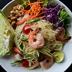 Prawns Papaya Salad