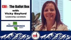 The Ballot Box E14. Vicky Bayford