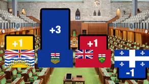 Alberta to gain three federal seats in 2024