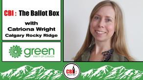 The Ballot Box E25. Catriona Wright