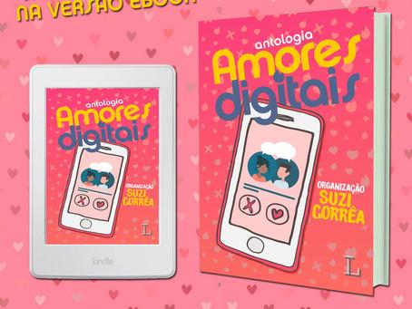 Chegou o ebook de Amores Digitais! 😍