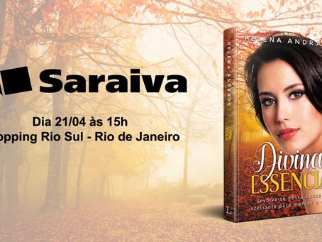 Lançamento de Divina Essência no Rio de Janeiro!