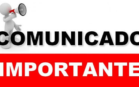 🚨 Comunicado Importante 🚨