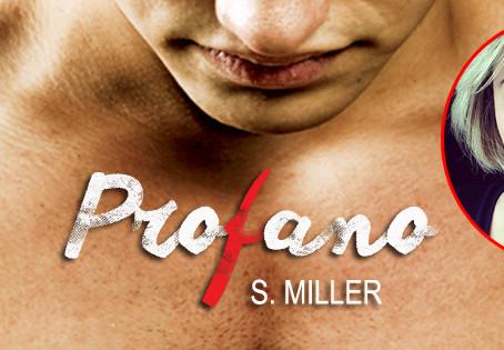 S. Miller revela tudo sobre 'Profano', seu primeiro romance publicado pela Ler Editorial