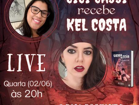 Um evento que os fãs da Kel Costa não podem perder!