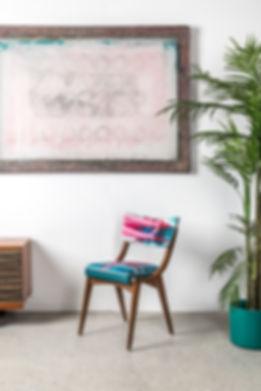 Ben chair, elin rhian, upholstery