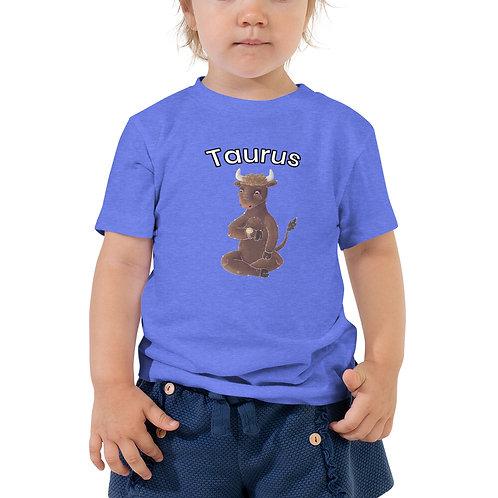 Toddler Short Sleeve Tee- Taurus Bull