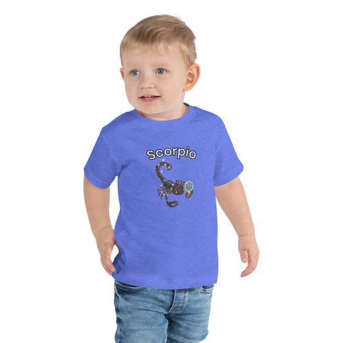 Toddler Short Sleeve Tee- Scorpio Scorpion