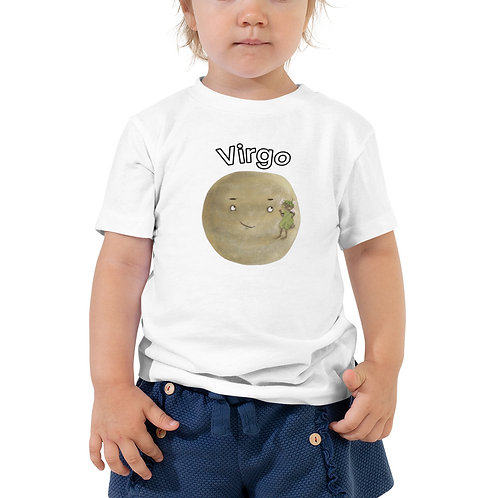 Toddler Short Sleeve Tee- Virgo Mercury Earth