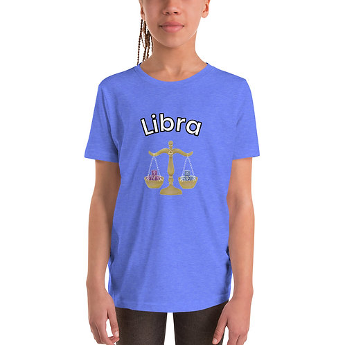 Youth Short Sleeve T-Shirt- Libra Scale