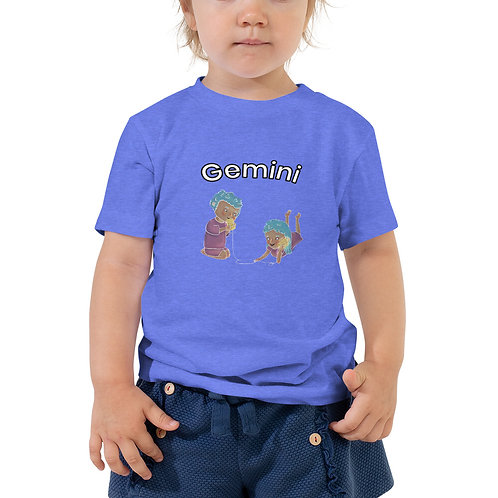Toddler Short Sleeve Tee- Gemini Twins