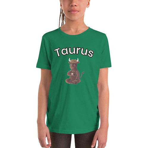 Youth Short Sleeve T-Shirt- Taurus Bull