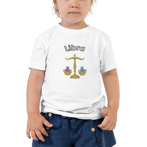 Toddler Short Sleeve Tee- Libra Scale