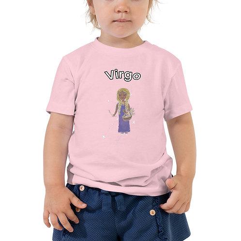 Toddler Short Sleeve Tee- Virgo Maiden