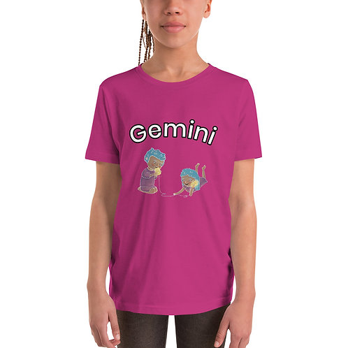 Youth Short Sleeve T-Shirt- Gemini Twins