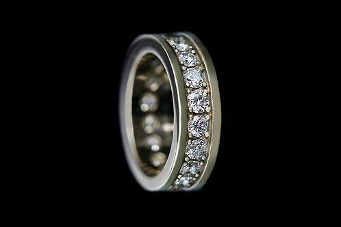 Snubní prsten FOREVER s diamanty