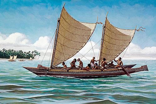 Manihiki Canoe