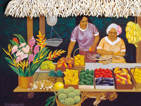 Rarotonga Fruit Stand