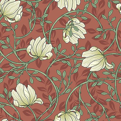 Vintage Floral-Red