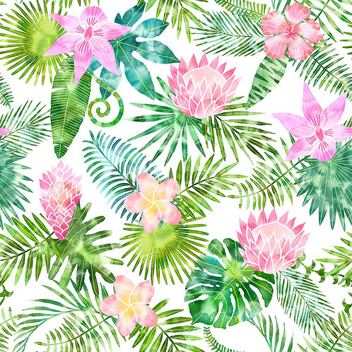 Tropical Floral - Pink