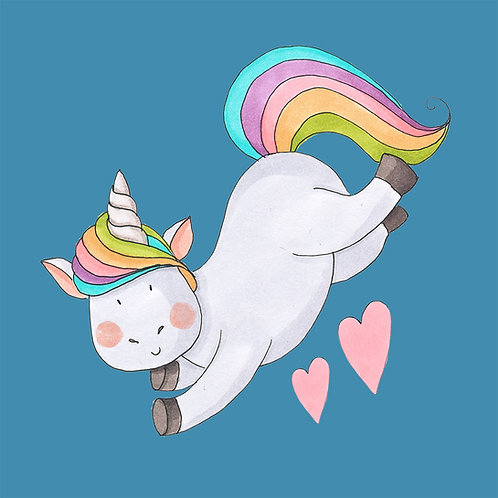 Unicorn Jumping