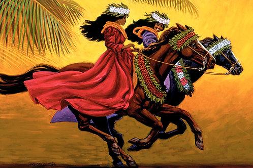 Paʻu Riders