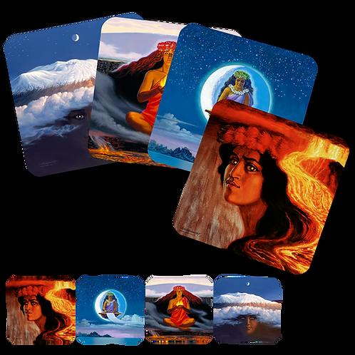 Goddess Set of 4 Coasters