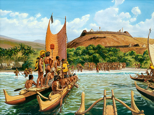 Arrival of Keoua at Puʻukohola