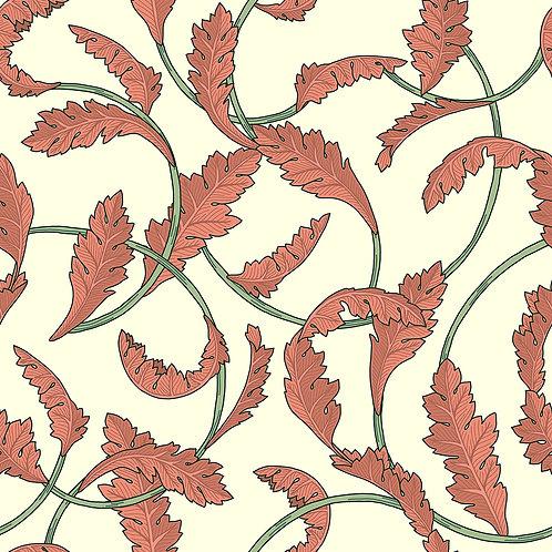 Vintage Floral-Ivory